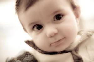 free-photo-cute-baby-sepia