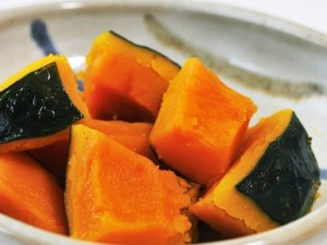 かぼちゃの煮物 (2)