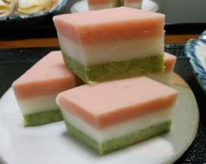 大和芋の菱餅